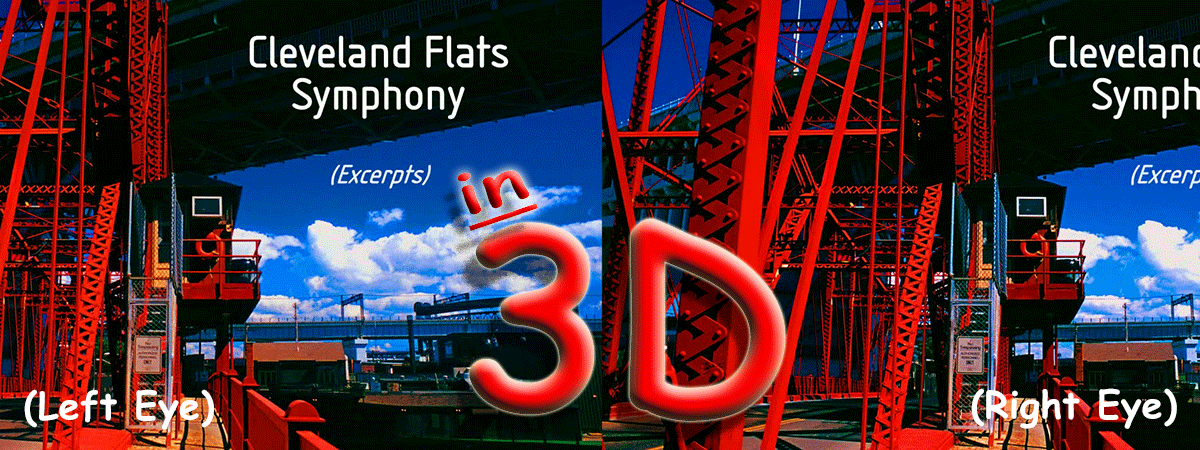 Cleveland Flats Symphony to 3D Projection